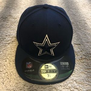 NFL Accessories - 🏈 NFL Dallas Cowboys Fitted Hat 7 1/4 Blue Star